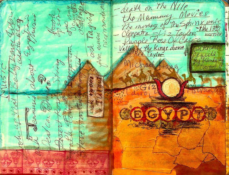 Egypt notebook